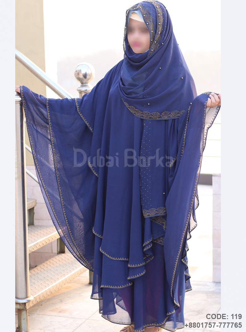 Latest Design Kaftan Borka 3 Part , Code: 119, 01757777765