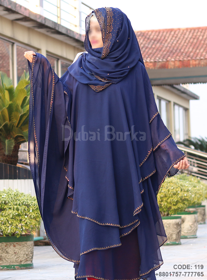 Latest Design Kaftan Borka 3 Part